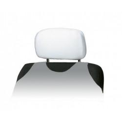 Pokrowce na zagłówki ALBI białe - komplet 2 pokrowców