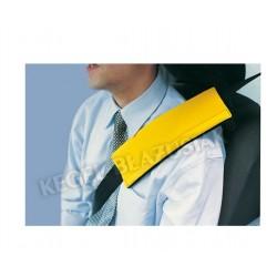 Poduszka KOSZULKA na pas bezpieczeństwa żółta