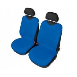 Pokrowce koszulki SHIRT COTTON na przednie fotele niebieskie