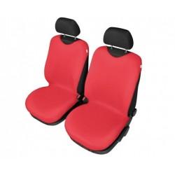 Pokrowce koszulki SHIRT COTTON na przednie fotele czerwone