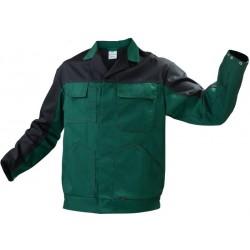 Bluza do pasa WORK zielony/czarny