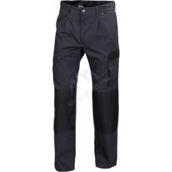 Spodnie do pasa WORK grafit/czarny