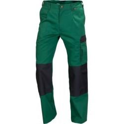 Spodnie do pasa WORK zielony/czarny