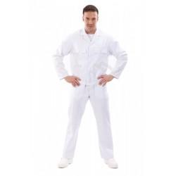 Bluza do pasa biała