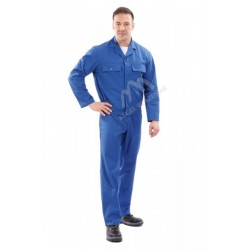 Bluza do pasa niebieska
