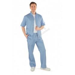 Spodnie męskie błękitne