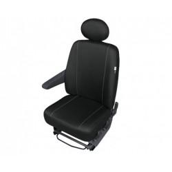 Pokrowiec na przedni fotel samochodowy HERMAN czarny