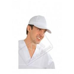 Czapka z daszkiem biała
