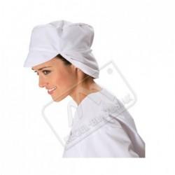 Czapka z siatką na włosy biała
