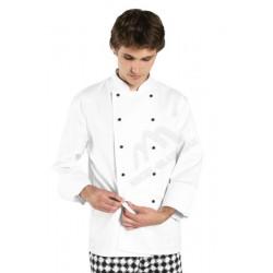 Bluza kucharska długi rękaw biała