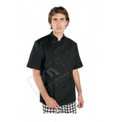 Bluza kucharska krótki rękaw czarna