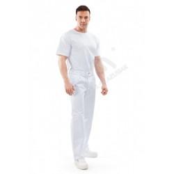 Spodnie do pasa CLASSIC białe