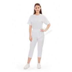 Spodnie damskie SPARTA białe