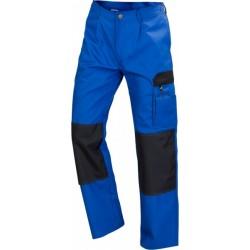 Spodnie do pasa WORK niebieski/czarny