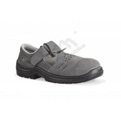 Sandał roboczy bezpieczny S1+P KOMFORT szary