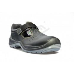 Sandał roboczy bezpieczny S1+P SRC WORK czarny