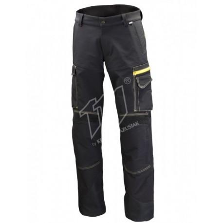 Spodnie do pasa Pure Black - czarne