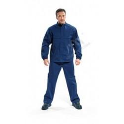Bluza ochronna dla spawacza, antyelektrostatyczna (CE) granatowa