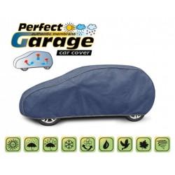 Miekki membranowy pokrowiec ochronny na cały samochód PERFECT GARAGE hatchback, dł. 380-405 cm
