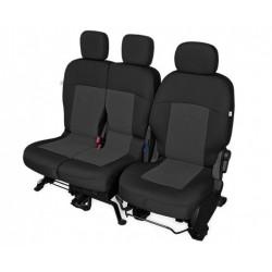 Pokrowiec TAILOR MADE - z pojedynczym fotelem kierowcy i podwójnym fotelem pasażerów