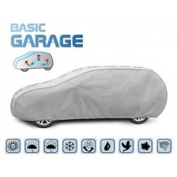 Pokrowiec na samochód BASIC GARAGE hatchback/kombi, dł. 455-485 cm