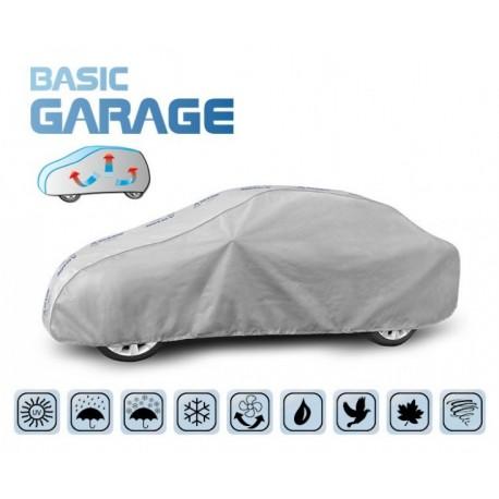 Pokrowiec na samochód BASIC GARAGE sedan, dł. 425-470 cm