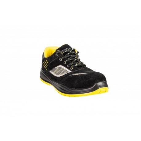 Półbut bezpieczny Kneiter Sport S1+P SRC czarny+żółty