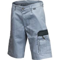 Spodnie krótkie WORK popielaty