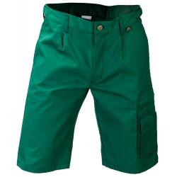Spodnie krótkie WORK zielony