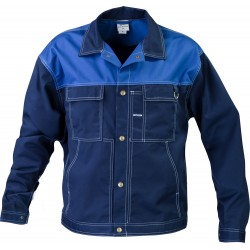 Bluza do pasa TOP niebieska