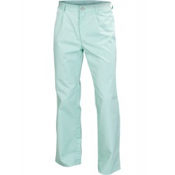 Spodnie męskie do pasa seledynowe