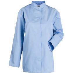 Bluza damska długa błękitna
