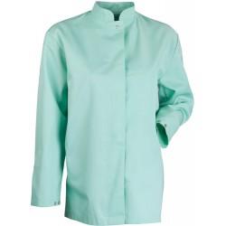 Bluza damska długa seledynowa