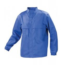 Bluza ochronna dla spawacza, antyelektrostatyczna (CE) niebieska