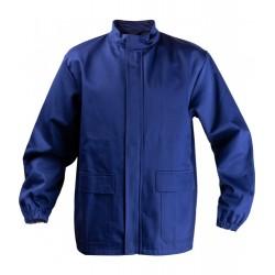 Bluza trudnopalna ochronna dla spawacza (CE) granatowa