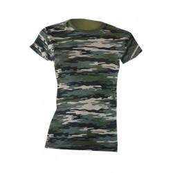 t-shirt damski camouflage