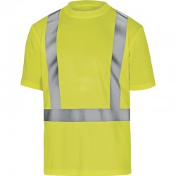 T-shirt odblaskowy krótki rękaw comet
