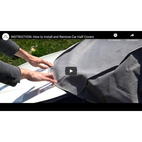 Film instruktażowy - Instrukcja zakładania pokrowca/ półplandeki na samochód