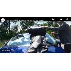 Film instruktażowy - Instrukcja zakładania pokrowca na samochód