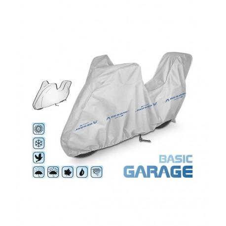 Pokrowiec na motocykl BASIC GARAGE, długość 215-240 cm + kufer